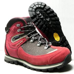 トレッキング・登山靴 trezeta トレゼータ (レディース) ANNETTE MID カラー:Active Red ビブラムソール使用|paddle-sa