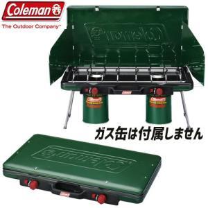 coleman コールマン パワーハウスLPツーバーナーストーブ2 キャンプ BBQ ツーバーナー ...