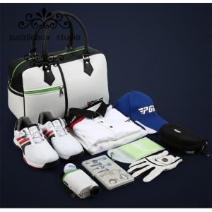 ゴルフ ボストンバッグ  シューズ収納  バッグ ショルダー シューズケース付き 旅行バッグ スポー...