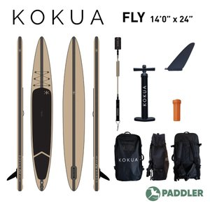 KOKUA FLY SUP スタンドアップパドル サップ インフレータブル 14ftx24inch|paddler
