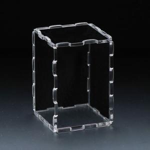 アクリル6面体ディスプレイケース 独自ジョイント特許技術により、組み立て分解を自由に楽しめます。|paddy-field
