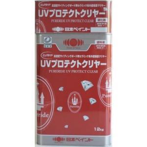 ニッペ ピュアライドUVプロテクトクリヤー 透明 各艶(艶有・3分艶有) (主剤+硬化剤) 15Kgセット/2液 油性 シリコン 日本ペイント|paint-lucky