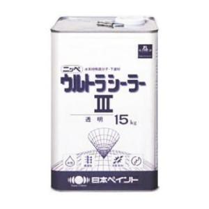 水性ウルトラシーラー3 各色 15kg缶【1液 水性 下塗り 日本ペイント】