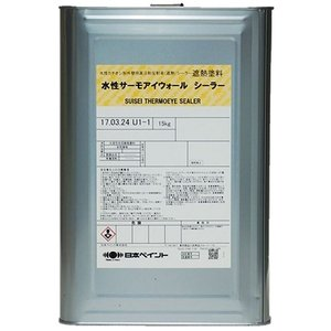 ニッペ 水性サーモアイウォール シーラー 透明) 15Kg缶【1液 水性 下塗り 日本ペイント】