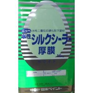 水性シルクシーラー厚膜 ホワイト 15kg缶【1液 水性 下塗り 日本ペイント】