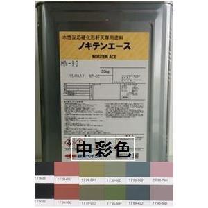 ノキテンエース  日本塗料工業会中彩色 艶消し  20Kg缶【1液 水性 骨材入り 日本ペイント】