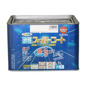 水性スーパーコート 5L 各色 【アサヒペン】|paintandtool