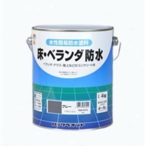 床・ベランダ防水 4KG 各色 【ロックペイント】
