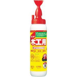 水性 ボンドCH18らくらく750 750g 1箱(10本)#40167【コニシ】|paintandtool