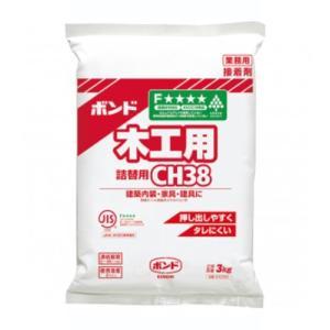 水性 ボンドCH38(3kg)ポリ袋 1箱(6袋)#40250【コニシ】|paintandtool