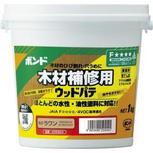 ウッドパテ ラワン 1kg (ポリ缶) #25924【コニシ】 paintandtool