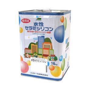 水性セラミシリコン 標準色 16kg(缶) 各色(JN-85〜SR-417) 【エスケー化研株式会社】|paintandtool