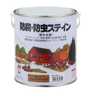 ナフタデコール 防腐・防虫ステイン  ブラック 0.7L【ロックペイント】|paintandtool