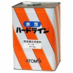 ハードライン W-100 黒 16L  【アトミクス株式会社】|paintandtool