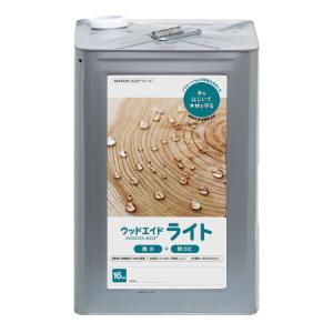 ウッドエイド ライト クリア(透明) 16kg【日本マテリエイド株式会社】|paintandtool