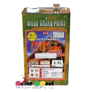 ニューボンデンDX #108ブラウン 3.5L 【大阪塗料工業株式会社/カクマサ】|paintandtool