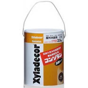 キシラデコールコンゾラン #512ジェットブラック 3.5L【大阪ガスケミカル株式会社】 paintandtool