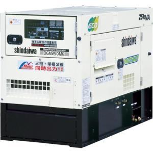 新ダイワ 大型ディーゼルエンジン発電機(三相・単相同時出力)(DGM250MK) paintandtool