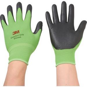 3M 一般作業用コンフォートグリップグローブ グリーン Mサイズ(GLOVEGREM)