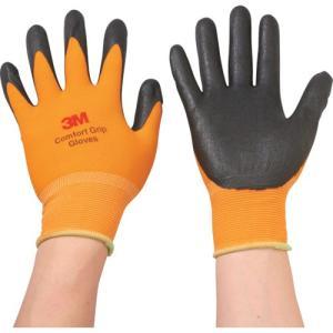 3M 一般作業用コンフォートグリップグローブ オレンジ Mサイズ(GLOVEORAM)