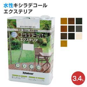 水性キシラデコールエクステリア 3.4L (日本エンバイロケミカルズ/XYLADECOR/木部/木材) paintjoy