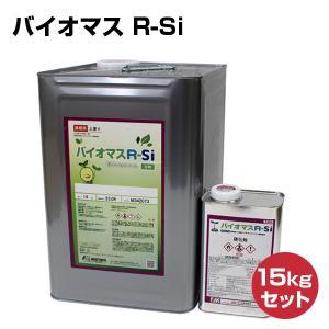 バイオマス R-Si 15kgセット (水谷ペイント/弱溶剤2液型シリコン樹脂塗料) paintjoy