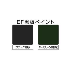EF黒板ペイント ブラック (黒) 0.9kg+ペイントうすめ液250ml (油性/チョークボードペイント/黒板塗料)|paintjoy|02