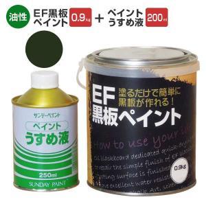 EF黒板ペイントは、黒板の簡易仕上げと補修に用いられる速乾性の黒板専用塗料(油性)です。塗面は艶消し...