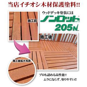 ノンロット205N 着色系 3.5L (三井化学産資/木材保護塗料/油性) paintjoy 07