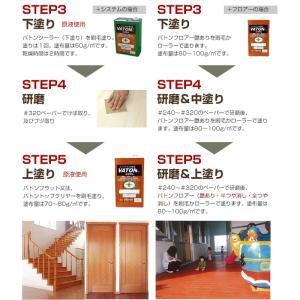 バトン VATON 各色 3.7L (塗料/DIY/木材保護塗料/ウッドデッキ/木部用塗料/大谷塗料)|paintjoy|08