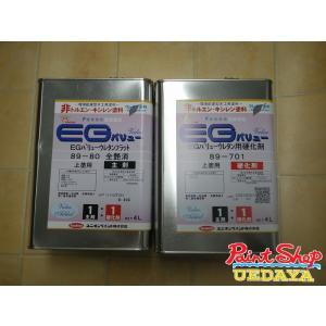 【送料無料】 ユニオン EG バリューウレタンクリヤー 89-701 89-80 全艶消し セット|paintshop-uedaya