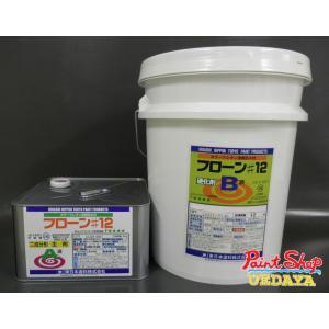 【送料無料】 フローン#12 18Kセット 各色 丸缶 <2液反応型ウレタン塗膜防水材>≪東日本塗料≫|paintshop-uedaya