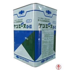 ケンエースG2 白 16K ホワイト【送料無料】 日本ペイント カチオン形NADアクリル樹脂塗料(10000002)