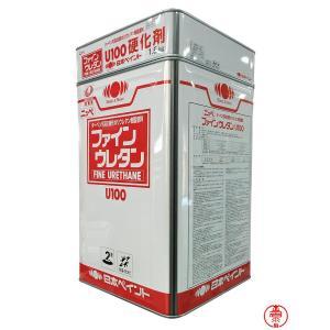 ファインウレタンU100 白 15Kセット ホワイト【送料無料】日本ペイント 2液型ウレタン塗料(10000034)|paintshop