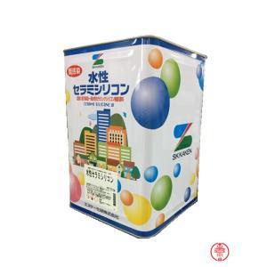 水性セラミシリコン 半艶 淡彩色 16K【送料無料】エスケー化研 外壁用塗料(10000120)|paintshop