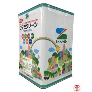 セラミクリーン 白・淡彩色 16K【送料無料】エスケー化研 高機能シリコン樹脂塗料(10000388) paintshop