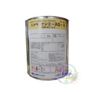 ケンエースG2 黒 4K ブラック【送料無料】 日本ペイント カチオン形NADアクリル樹脂塗料(10000416)