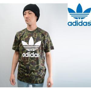 ADIDAS ORIGINAL CAMO TREFOIL TEE アディダス オリジナル Tシャツ  BK5861|pajaboo