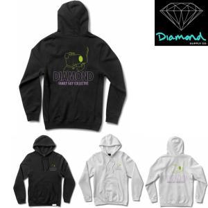 DIAMOND SUPPLY CO x FAMILY GUY COLLECTION HOODIE ダイヤモンドサプライ パーカー ファミリーガイ コラボレーション 限定 プルオーバーパーカー フード|pajaboo