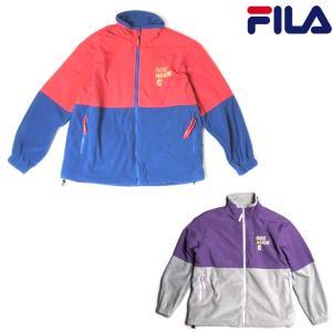 フィラ ジャケット FILA FULL ZIP JACKET 正規取扱店  アウター フリースジャケット|pajaboo