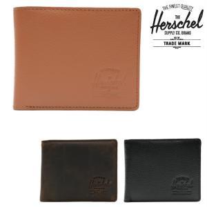 HERSCHEL SUPPLY CO HANK PL LEATHER (3色展開)  正規取扱店  ハーシェルサプライ ウォレット 財布 サイフ|pajaboo