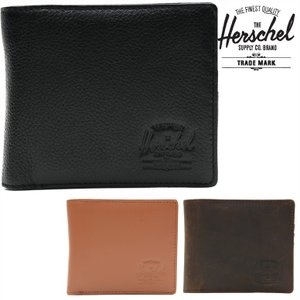 HERSCHEL SUPPLY CO HANK LARGE LEATHER (3色展開)  正規取扱店  ハーシェルサプライ ウォレット 財布 サイフ|pajaboo