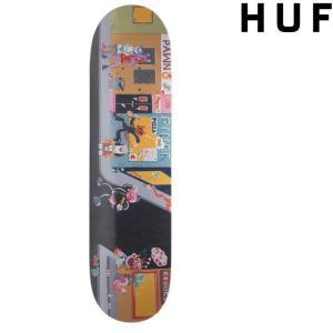 HUF CHLOE K SKATE DECK BLACK  ハフ  スケートデッキ スケートボード|pajaboo