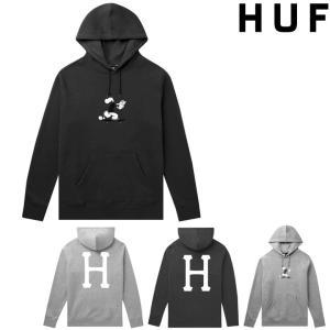 HUF x POPEYE SKATE PULLOVER HOODIE ハフ パーカー フード スウェット コラボレーション ポパイ|pajaboo