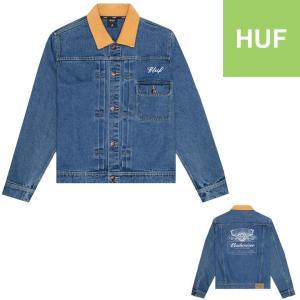 HUF x BUDWEISER DENIM JACKET  ハフ ジャケット デニムジャケット Gジャン バドワイザー コラボレーション|pajaboo