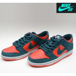 NIKE SB ZOOM DUNK LOW PRO NIGHTSHADE/CHL RED ナイキエスビー スニーカー ダンク 854866-336|pajaboo