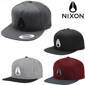 NIXON SIMON SNAPBACK CAP (4色展開)  正規取扱店  ニクソン キャップ