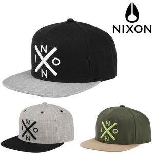 NIXON EXCHANGE SNAPBACK CAP (6色展開)  正規取扱店  ニクソン キャ...