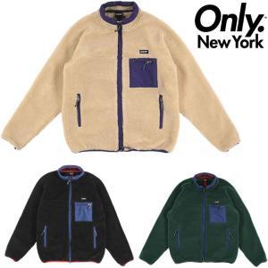 オンリーニューヨーク ジャケット ONLY NY ALPINE FLEECE JACKET フリース ボアジャケット アウター|pajaboo