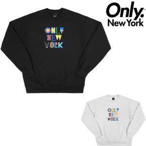 オンリーニューヨーク トレーナー ONLY NY ASSEMBLAGE CREW NECK スウェット クルーネック|pajaboo